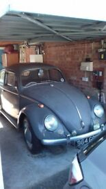 Volkswagon beetle 1964 for restoration with assorted spares.