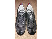 mens cruyff black trainers size 8