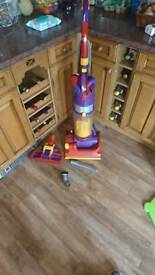 Dyson dc04 vacuum cleaner with laminate/wood floor attachment and xtra attachment