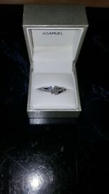 H. Samuel Engagement Ring ****PRICE REDUCED****