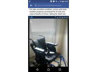 enigma power chair excellent condition 550 ono