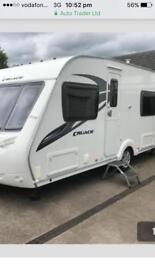 2011 STERLING CRUACH 4berth fixed bed