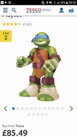 Teenage mutant ninja turtles giant playset. Excellent condition. .