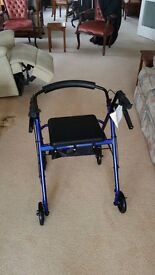 Drive 4 wheel walking aid