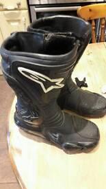 Alpine star ladies motorbike boots