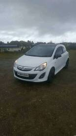 2014 vauxhall corsa 1.2 limited edition