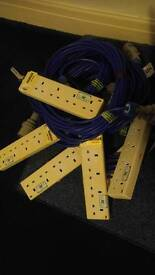 Camping Electric Hook up Leads. Many sizes. Cheap price