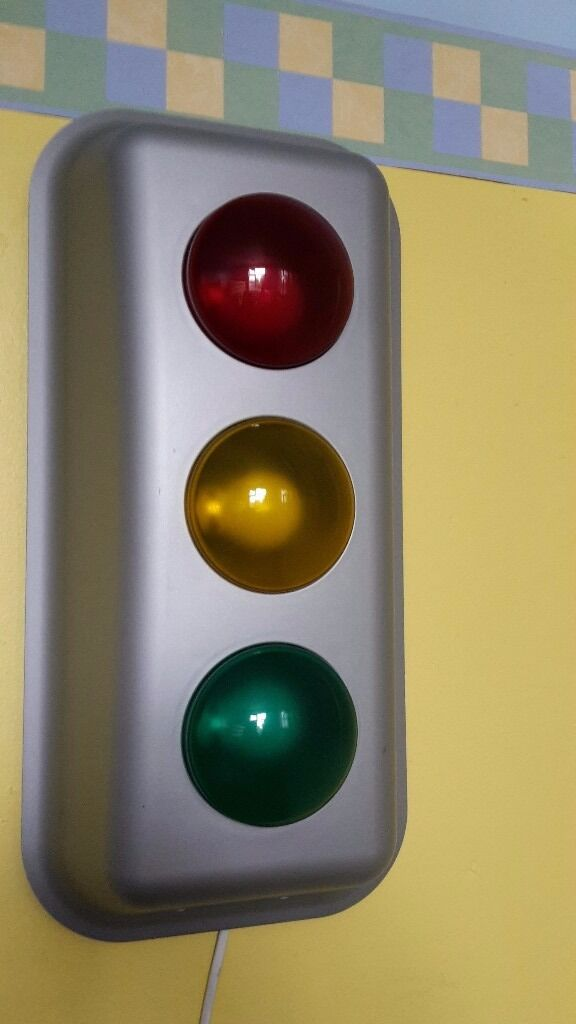 Wall Mounted Traffic Lights From Ikea