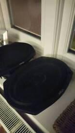 Vibe slicks 6x9s car speakers