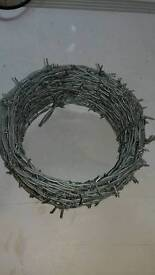 Barbed Wire in a Reel