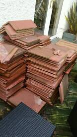 Marley interlocking roof tile terracotta