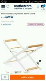 Mothercare Luxury Moses Basket stand