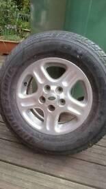 Landrover freelander wheel+tyre