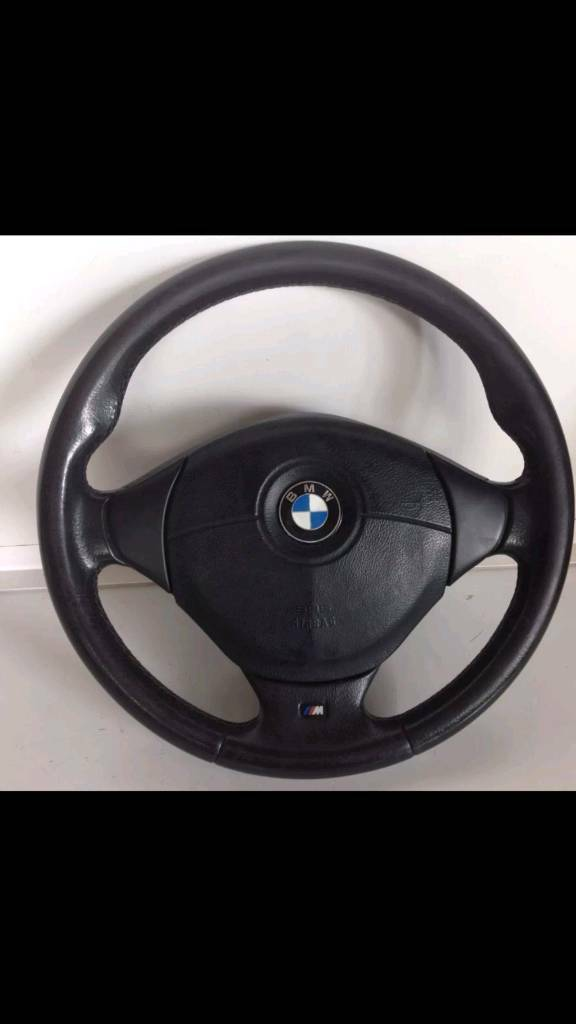 Bmw e36 mtec steering wheel and airbag