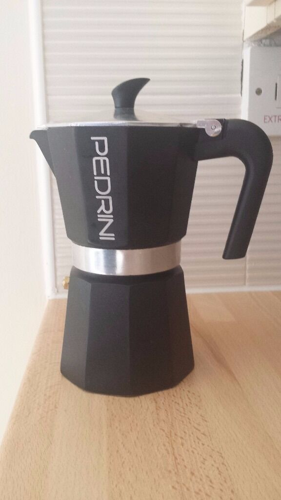 Pedrini Coffee Maker BLACK