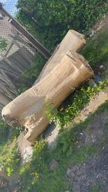Free to uplift - large amount of dry wood