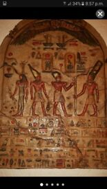 Eygptian 4 ft Hieroglyphic Arch Shaped Wall Art