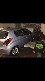 Hyundai I20 Damaged Unrecorded 2014