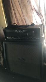 Peavey VK100 Valveking with 4x12 Cabinet