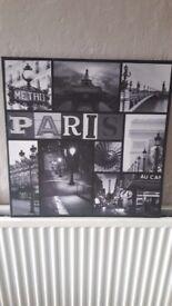 Paris canvas!
