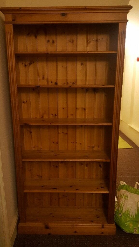 Solid pine shelf unit