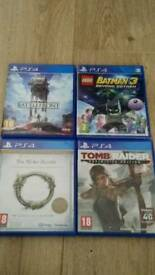 Job lot of 4 ps4 games for sale