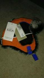Marks and Spencer wind trapper hat 12-18mnths