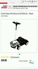 Chad valley mini electric 6v ride on