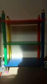 Crayon Shelf Unit