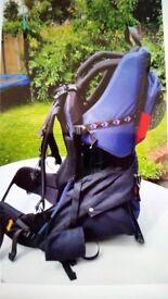 Jack Wolfskin baby carrier / backpack