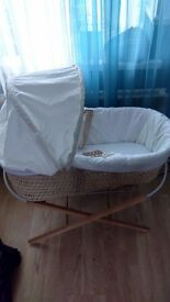 Moses basket - crib