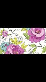 Arthouse Opera Cassi Pink/Teal Wallpaper