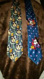 Classic Disney Mickey Mouse Ties