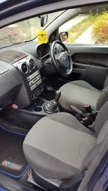 Ford fusion 2 blue lovely little car runs excellent no knocks or bumps couple of marks with age