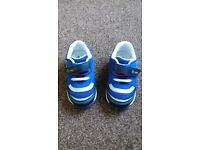 Trainers size 6G (startrite) with flashing 'laces' - Condition as new