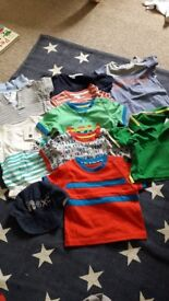 Baby boy tshirt and romper bundle 3-6 months
