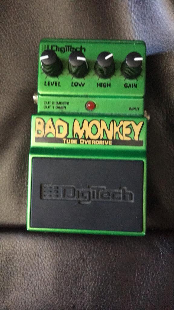 Digitech bad monkey tube screamer clone   in Elland, West Yorkshire    Gumtree