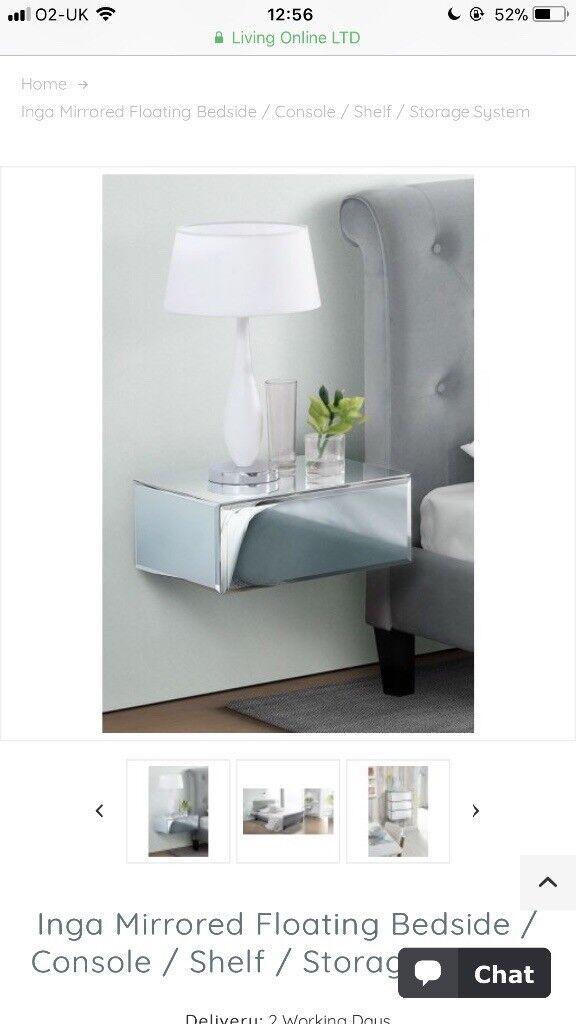 Mirror Floating Shelf