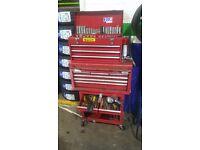 Tool box + tools