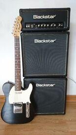 Squier Telecaster Guitar and Blackstar HT5 Amp