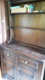 Gorgeous 3FT PRIORY dark Oak Dresser