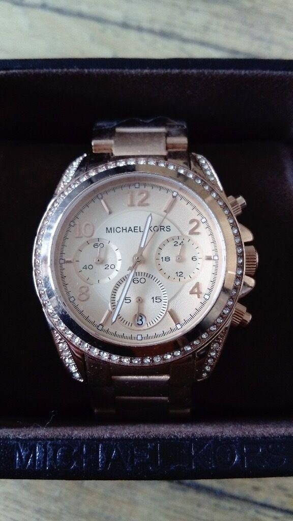 edf232da18a3 Michael Kors MK5263 Blair Rose Gold Ladies  Chronograph Watch ...