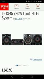 For swap my lg sound system only 2 months old