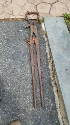 Wheeler-rex Soil Cast Chain Pipe Cutter