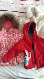 2 to 3 years girls coats and jackets