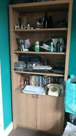 Shelf and cupboard unit