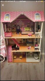 Tall dolls house