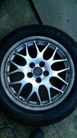 vw golf bbs alloys good tyres will fit most golf audi £100