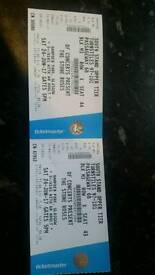 Stone roses tickets hampden park (seated) *reduced price*