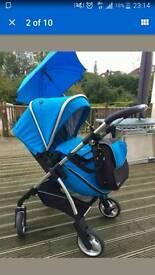 Silvercross wayfer in baby blue